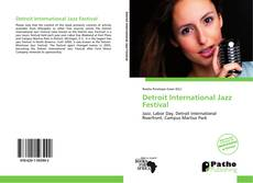 Buchcover von Detroit International Jazz Festival