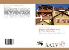 Capa do livro de Kappel, Switzerland, Olten, District, Communes
