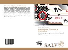 Bookcover of International Olympiad in Informatics