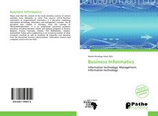 Buchcover von Business Informatics