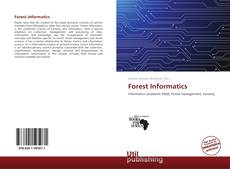 Bookcover of Forest Informatics