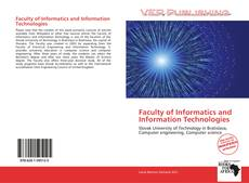 Bookcover of Faculty of Informatics and Information Technologies