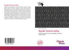 Capa do livro de Riyadh Techno Valley