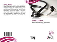 Bookcover of Health System