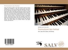 Capa do livro de Provincetown Jazz Festival