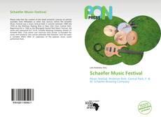 Couverture de Schaefer Music Festival