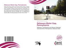 Обложка Delaware Water Gap, Pennsylvania