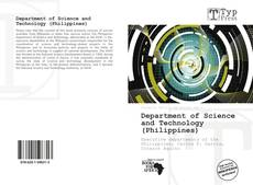Bookcover of Department of Science and Technology (Philippines)