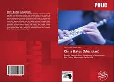 Portada del libro de Chris Bates (Musician)
