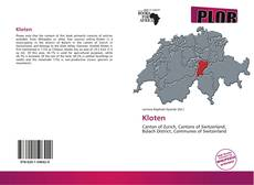 Capa do livro de Kloten