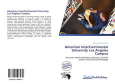 Buchcover von American InterContinental University Los Angeles Campus
