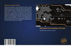 Bookcover of Internet Governance Forum