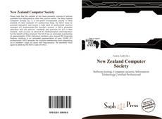 New Zealand Computer Society kitap kapağı