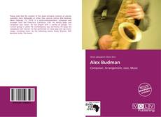 Bookcover of Alex Budman
