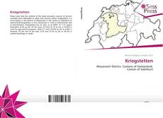 Portada del libro de Kriegstetten