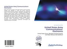 Bookcover of United States Army Communications-Electronics