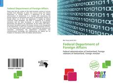 Federal Department of Foreign Affairs的封面