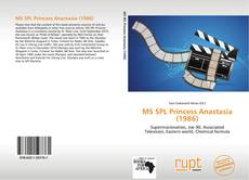Portada del libro de MS SPL Princess Anastasia (1986)