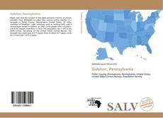 Capa do livro de Galeton, Pennsylvania