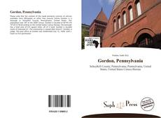 Gordon, Pennsylvania的封面