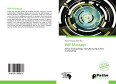 Capa do livro de WIP Message