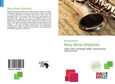 Buchcover von Mary Oliver (Violinist)
