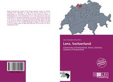 Bookcover of Lens, Switzerland