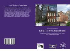 Capa do livro de Little Meadows, Pennsylvania