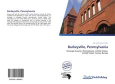 Portada del libro de Barkeyville, Pennsylvania