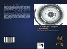 Bookcover of K. J. Somaiya College of Engineering