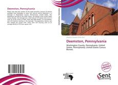 Capa do livro de Deemston, Pennsylvania