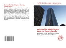 Capa do livro de Centerville, Washington County, Pennsylvania