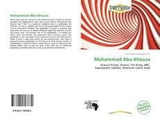 Copertina di Mohammad Abu Khousa