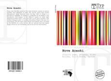 Обложка Nove Aceski
