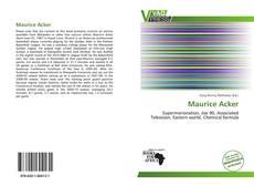 Capa do livro de Maurice Acker