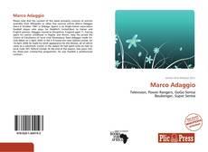 Обложка Marco Adaggio
