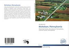 Bookcover of Nicholson, Pennsylvania