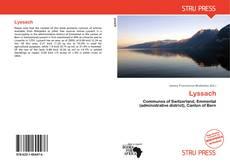 Buchcover von Lyssach