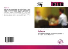Bookcover of Adassa