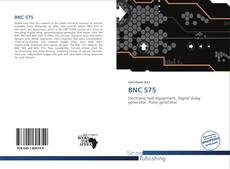 Bookcover of BNC 575