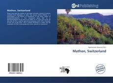 Bookcover of Mathon, Switzerland