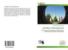 Capa do livro de Jacobus, Pennsylvania