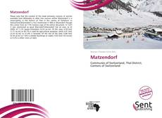 Bookcover of Matzendorf