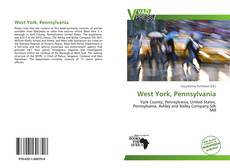 Bookcover of West York, Pennsylvania