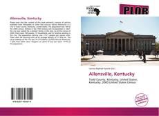 Capa do livro de Allensville, Kentucky