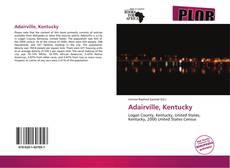 Capa do livro de Adairville, Kentucky