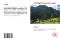 Capa do livro de Meride