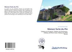 Bookcover of Maison forte du Pin