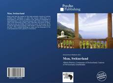 Bookcover of Mon, Switzerland
