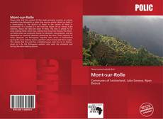 Bookcover of Mont-sur-Rolle